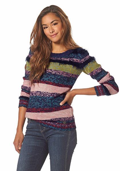 Kangaroos csíkos pulóver