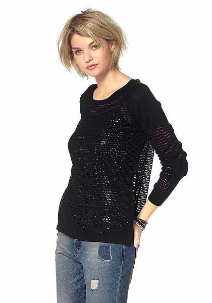 Laura Scott azsúrmintás pulóver