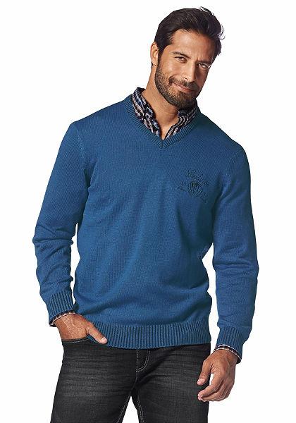 Man's World V-nyakú pulóver