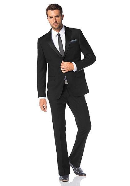 Bruno Banani öltöny (szett, 3 részes, nyakkendővel)