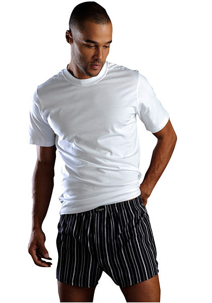 Tričko kulatý výstřih 6ks