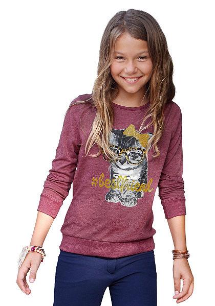 Tričko s dlouhým rukávem, pro dívky