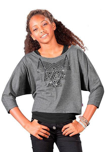 Tričko+top, pro dívky