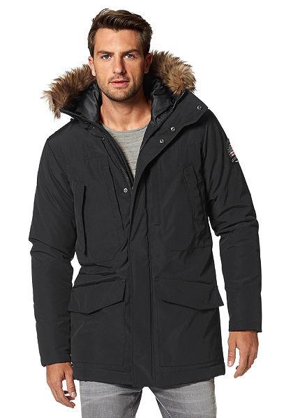 Dlhá zimná bunda