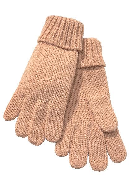 Pletené rukavice