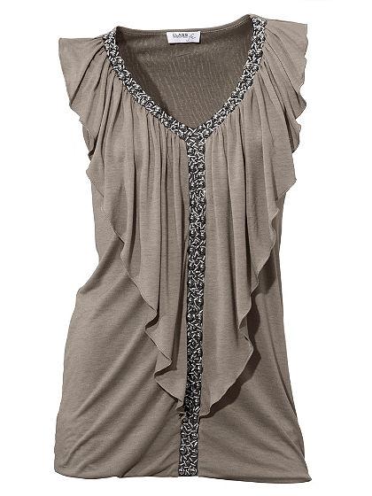 Bodyform-V nyakú póló