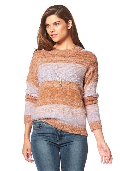 Chillytime csíkos pulóver