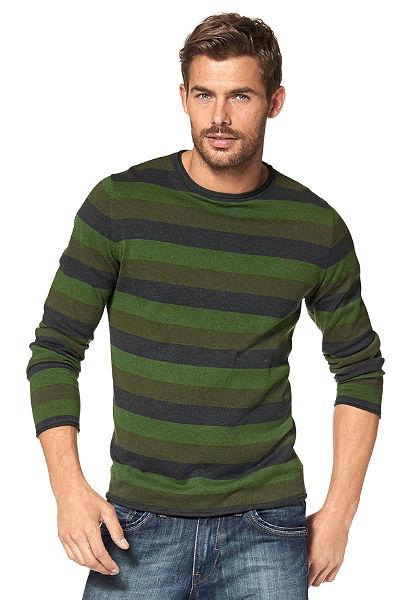 Tom Tailor csíkos pulóver