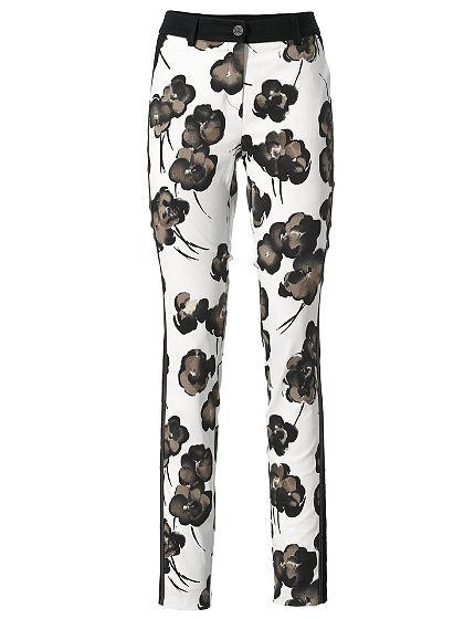 Bodyform-nyomott mintás nadrág