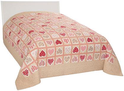 Ágytakaró, Dreams, »Andermatt«, szív nyomásmintával