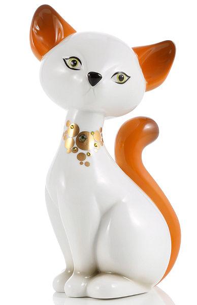 Zberateľská figúrka značky Goebel, »Turkish Van Kitty«