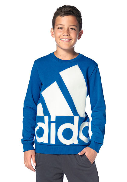 adidas Performance ESSENTIALS OVER-SIZED LOGO CREW SWEAT Mikina