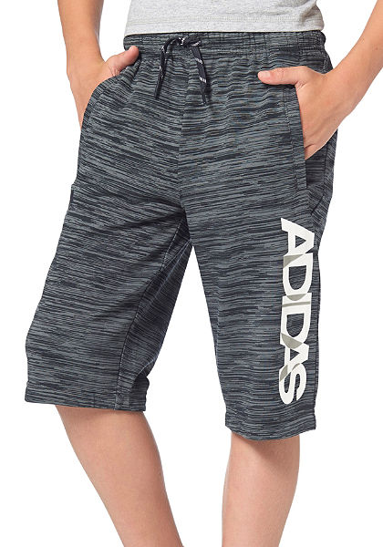 adidas Performance LOCKER ROOM BRAND KNITTED SHORT Šortky