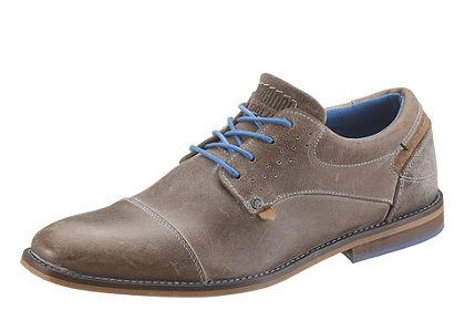 Bullboxer fűzős cipő, kevert anyagösszetételű