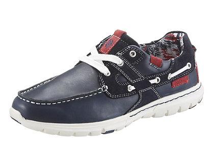 Dockers Šnurovacie topánky mokasínový vzhľad