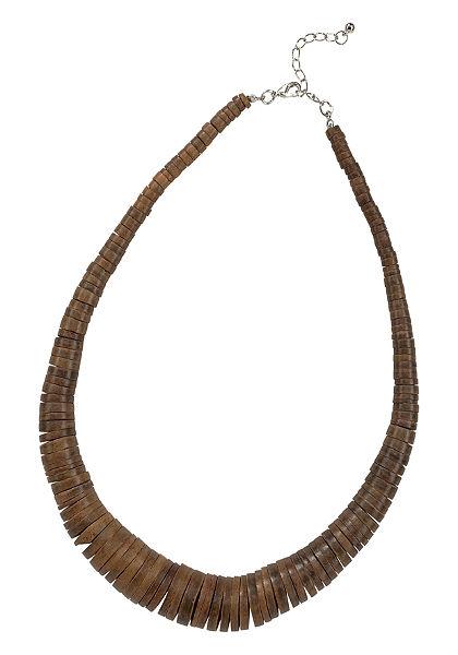 J. Jayz nyaklánc »kókuszból készült gyöngyökből«
