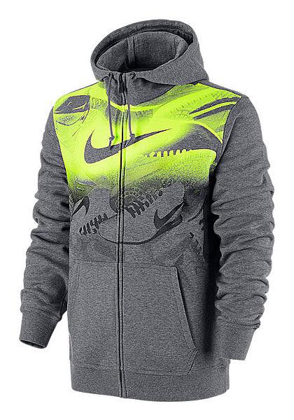 Nike kapucnis hosszú ujjú felsőrész