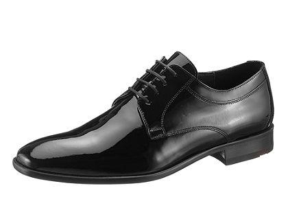 LLOYD Šnurovacie topánky »Freeman« lakovaná koža