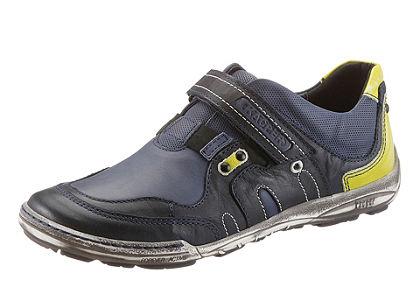 Kacper belebújós cipő tépőzárral koptatott hatású