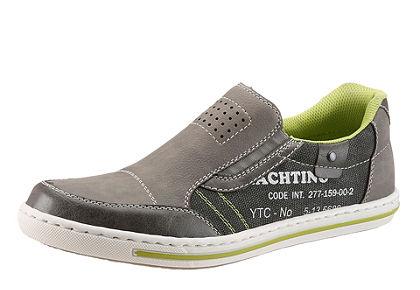 RIEKER belebújós cipő, különböző anyagokból