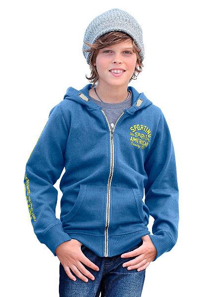 Mikina s kapucí, pro kluky