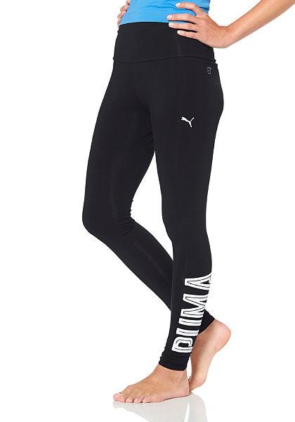 Puma STYLE SWAGGER LEGGINGS fekete leggigns