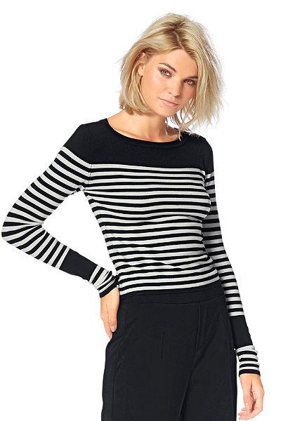 Laura Scott kereknyakú pulóver