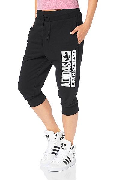 adidas Originals 3/4-bavlněné kalhoty