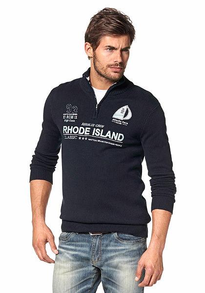 Rhode Island cipzáras pulóver