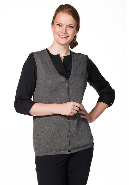 sheego Style Pletená vesta