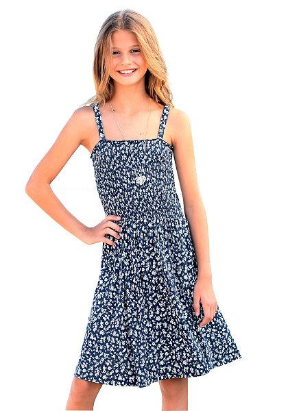 Arizona vállpántos ruha virág mintával, lányoknak