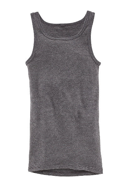 Ammann trikó »Jeans«, sportos-klasszikus fazon, bordás hatású, könnyen kezelhető minőség