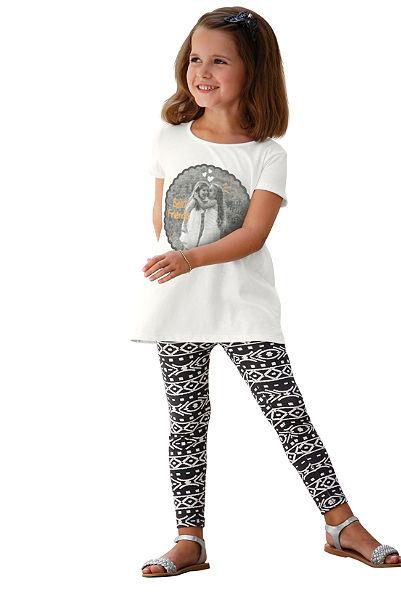 Kidoki póló&leggings ethno nyomásmintával (Szett, 2 részes), lányoknak