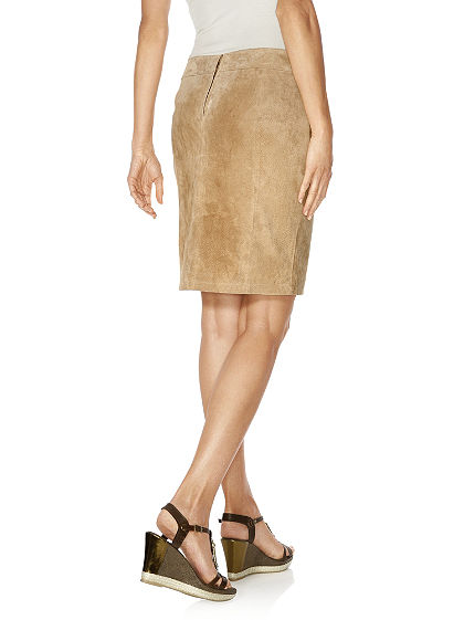 Kožená sukňa