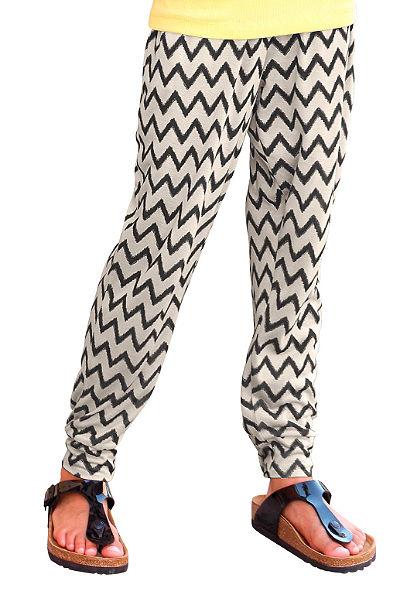 Arizona háremnadrág cikk cakk mintával, lányoknak