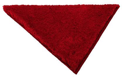 Fürdőszobaszönyeg, my home, »Merida«, magasság 32 mm,csúszásgátló hátoldal, háromszög alakú