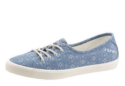 Esprit fűzős cipő ethno mintás fűzős cipő