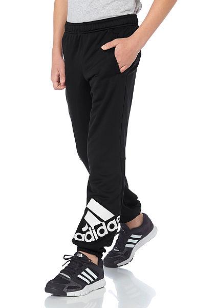 adidas Performance LOCKER ROOM BRAND LOGO PANT Sportovní kalhoty