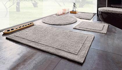 Fürdőszobaszőnyeg, Ecorepublic Home, »Kapra«, kétoldalas,bio pamutból