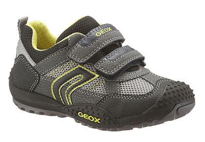 GEOX Kids tépőzáras cipő, kevert anyagösszetételű