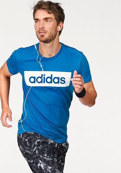 adidas Performance ESSENTIALS LINEAR TEE póló