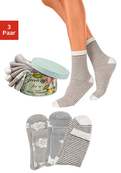 Lavana puha zokni (3 pár)