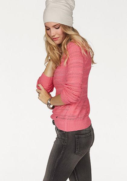 AJC azsúrmintás pulóver