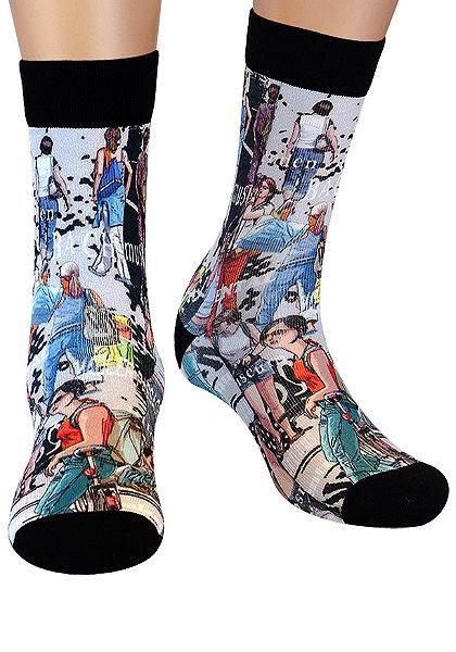 Wigglesteps nyomott  zokni(1 pár)