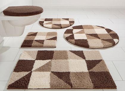 Koupelnový kobereček, kruh