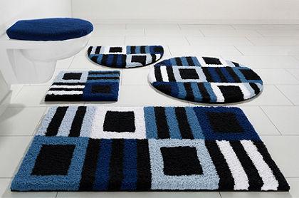 Fürdőszobaszönyeg, fali Wc szett, my home Selection, »Chiara«, magasság 20mm, mikroszálas (3 részes)