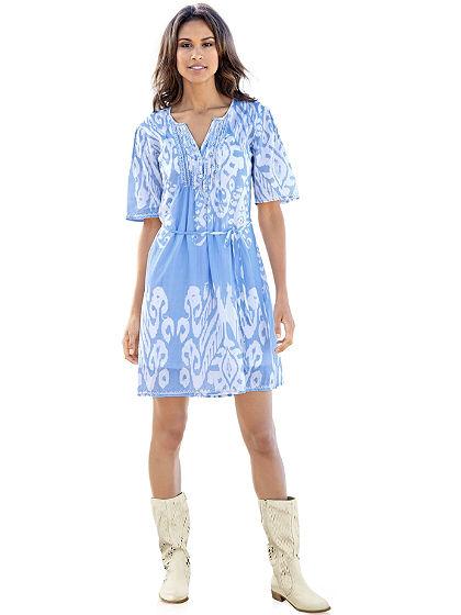 Blúz fazonú ruha