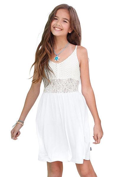 Arizona vállpántos ruha csipkebetéttel, lányoknak