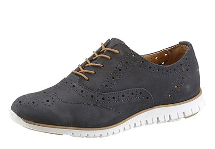 Tamaris fűzős dandy cipő