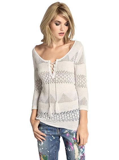 Azsúrmintás pulóver